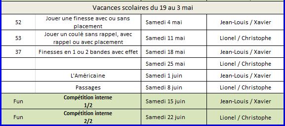 Cours 2&3ièmes Année 2018-2019