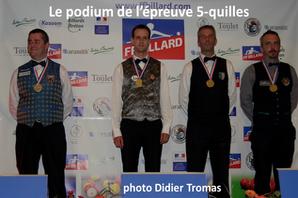 Finale de France 5-quilles Masters 2015